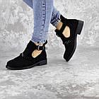 Черевички жіночі Fashion Jean 1261 36 розмір, 23,5 см Чорний, фото 5