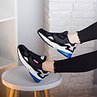 Кроссовки женские Fashion Haile 2586 37 размер 24 см Черный, фото 4