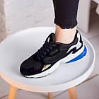 Кроссовки женские Fashion Haile 2586 37 размер 24 см Черный, фото 5