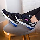 Кроссовки женские Fashion Haile 2586 37 размер 24 см Черный, фото 6