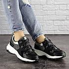 Жіночі кросівки Fashion Bruiser 1659 36 розмір 23 см Чорний, фото 8