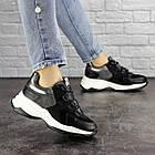 Жіночі кросівки Fashion Bruiser 1659 36 розмір 23 см Чорний, фото 9