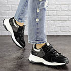 Жіночі кросівки Fashion Bruiser 1659 36 розмір 23 см Чорний, фото 10