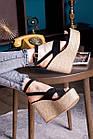 Жіночі босоніжки Fashion Abbykitty 2726 36 розмір, 23,5 см Чорний, фото 5
