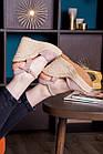 Жіночі босоніжки Fashion Abendigo 2829 37 розмір 24 см Бежевий, фото 2