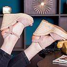 Жіночі босоніжки Fashion Abendigo 2829 37 розмір 24 см Бежевий, фото 3