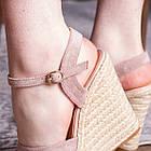 Жіночі босоніжки Fashion Abendigo 2829 37 розмір 24 см Бежевий, фото 5