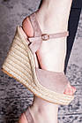 Жіночі босоніжки Fashion Abendigo 2829 37 розмір 24 см Бежевий, фото 6