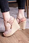 Жіночі босоніжки Fashion Abendigo 2829 37 розмір 24 см Бежевий, фото 8