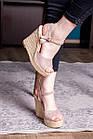 Жіночі босоніжки Fashion Abendigo 2829 37 розмір 24 см Бежевий, фото 9