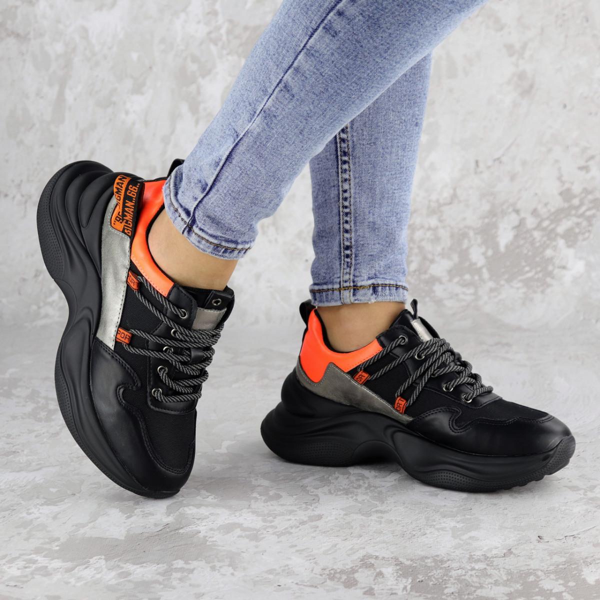 Кроссовки женские Fashion Rufis 2151 36 размер 23 см Черный