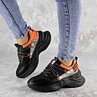 Кроссовки женские Fashion Rufis 2151 36 размер 23 см Черный, фото 2