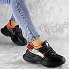 Кроссовки женские Fashion Rufis 2151 36 размер 23 см Черный, фото 3