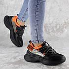 Кроссовки женские Fashion Rufis 2151 36 размер 23 см Черный, фото 4