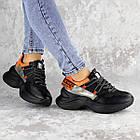 Кроссовки женские Fashion Rufis 2151 36 размер 23 см Черный, фото 5