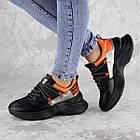 Кроссовки женские Fashion Rufis 2151 36 размер 23 см Черный, фото 6