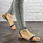 Женские босоножки Fashion Arrura 1640 38 размер 24,5 см Черный, фото 10