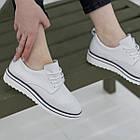 Кроссовки женские Fashion Saffi 2688 38 размер 24,5 см Белый, фото 4