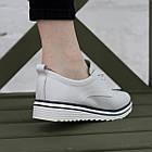 Кроссовки женские Fashion Saffi 2688 38 размер 24,5 см Белый, фото 6