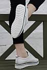 Кроссовки женские Fashion Saffi 2688 38 размер 24,5 см Белый, фото 7
