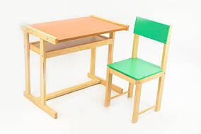 Парта дитяча +крісло 32см ИГРУША