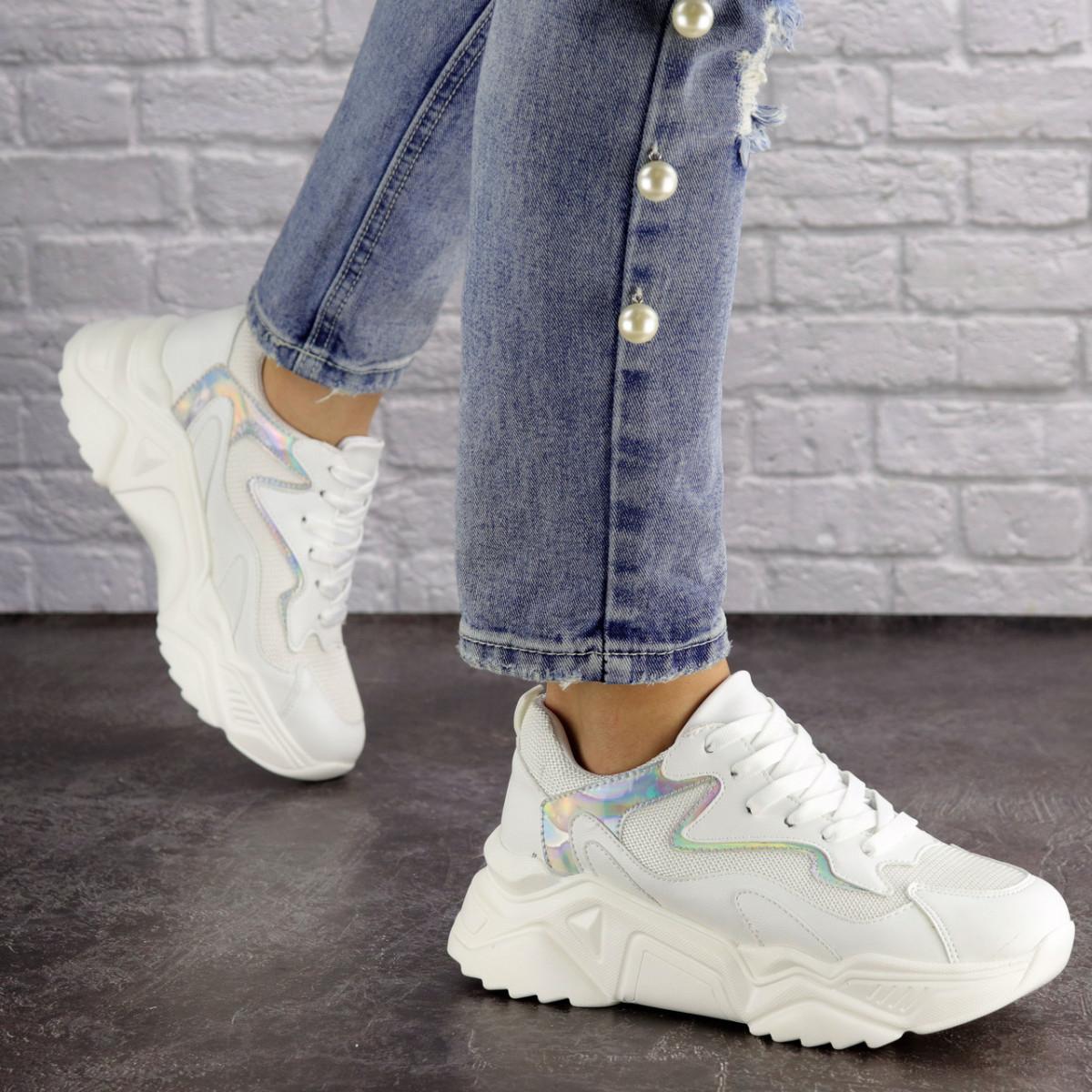 Женские кроссовки Fashion Freeway 1619 36 размер 23 см Белый