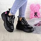 Жіночі кросівки Fashion Harper 1302 38 розмір 23,5 см Чорний, фото 4