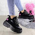 Жіночі кросівки Fashion Harper 1302 38 розмір 23,5 см Чорний, фото 7