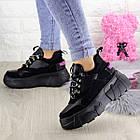 Жіночі кросівки Fashion Harper 1302 38 розмір 23,5 см Чорний, фото 10