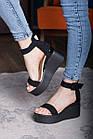 Женские босоножки Fashion Babee 2747 36 размер 23,5 см Черный, фото 2