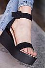 Женские босоножки Fashion Babee 2747 36 размер 23,5 см Черный, фото 6