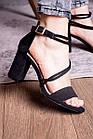 Женские босоножки Fashion Babers 2748 36 размер 23,5 см Черный, фото 3