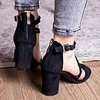 Женские босоножки Fashion Babers 2748 36 размер 23,5 см Черный, фото 5