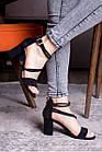 Женские босоножки Fashion Babers 2748 36 размер 23,5 см Черный, фото 6