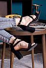 Женские босоножки Fashion Babers 2748 36 размер 23,5 см Черный, фото 7