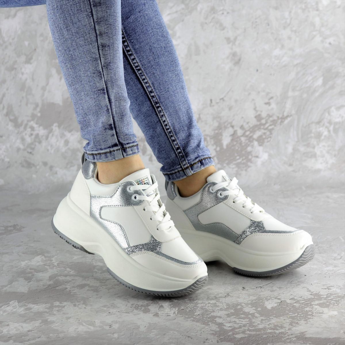 Кросівки жіночі Fashion Tab 2461 38 розмір 24 см Білий