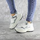 Кросівки жіночі Fashion Tab 2461 38 розмір 24 см Білий, фото 5