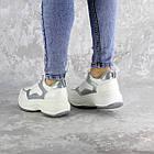 Кросівки жіночі Fashion Tab 2461 38 розмір 24 см Білий, фото 6