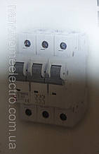 Автоматический выключатель ЕТІ 3п 40а тип С