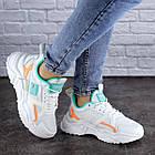 Жіночі кросівки Fashion Kirsty 1883 38 розмір 24 см Білий, фото 4