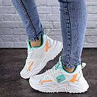 Жіночі кросівки Fashion Kirsty 1883 38 розмір 24 см Білий, фото 5