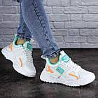 Жіночі кросівки Fashion Kirsty 1883 38 розмір 24 см Білий, фото 6