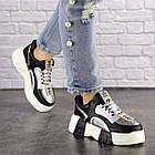 Женские кроссовки Fashion Leroy 1323 37 размер 23,5 см Черный, фото 3