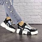 Женские кроссовки Fashion Leroy 1323 37 размер 23,5 см Черный, фото 5