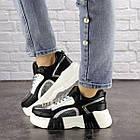 Женские кроссовки Fashion Leroy 1323 37 размер 23,5 см Черный, фото 6