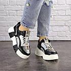 Женские кроссовки Fashion Leroy 1323 37 размер 23,5 см Черный, фото 7