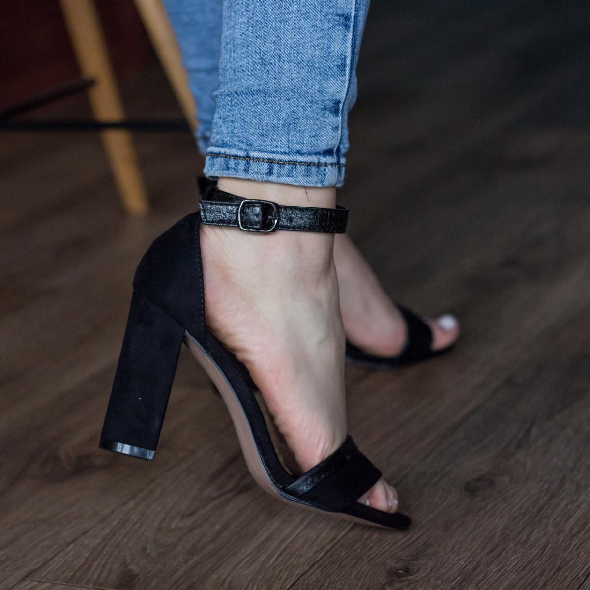 Женские босоножки Fashion Faja 2798 40 размер 25,5 см Черный