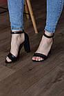 Женские босоножки Fashion Faja 2798 40 размер 25,5 см Черный, фото 3