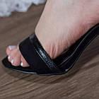 Женские босоножки Fashion Faja 2798 40 размер 25,5 см Черный, фото 5