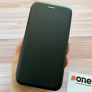 Чехол книга для Vivo Y11 с магнитом подставкой карман под карту чохол книжка на виво у11 черная